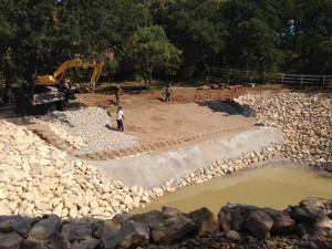 Fish Pond Construction (27)