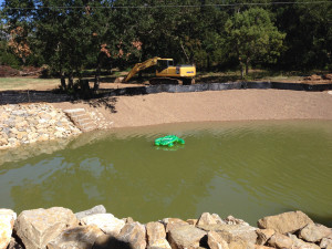 Fish Pond Construction (36)
